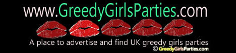 greedy girls parties banner
