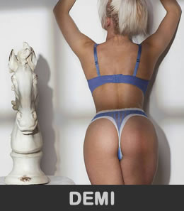 Demi, naturally beautiful petite blonde with an amazing model girl size 8 figure